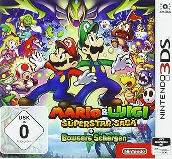 jeux 3ds mario et luigi superstar saga
