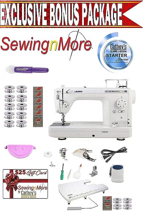 Juki TL-2000Qi - Máquina de coser y acolchar de brazo largo de 9 ...