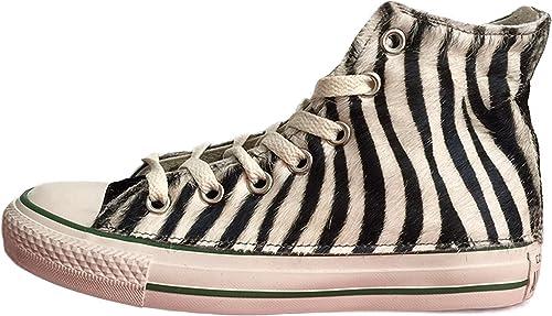 scarpe converse uomo zebrate