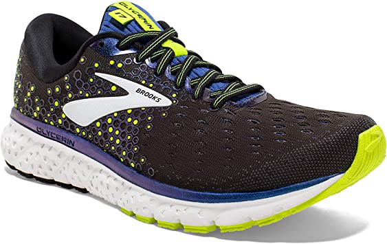 Brooks Mens Glycerin 17 Cushioned Road Running Shoe