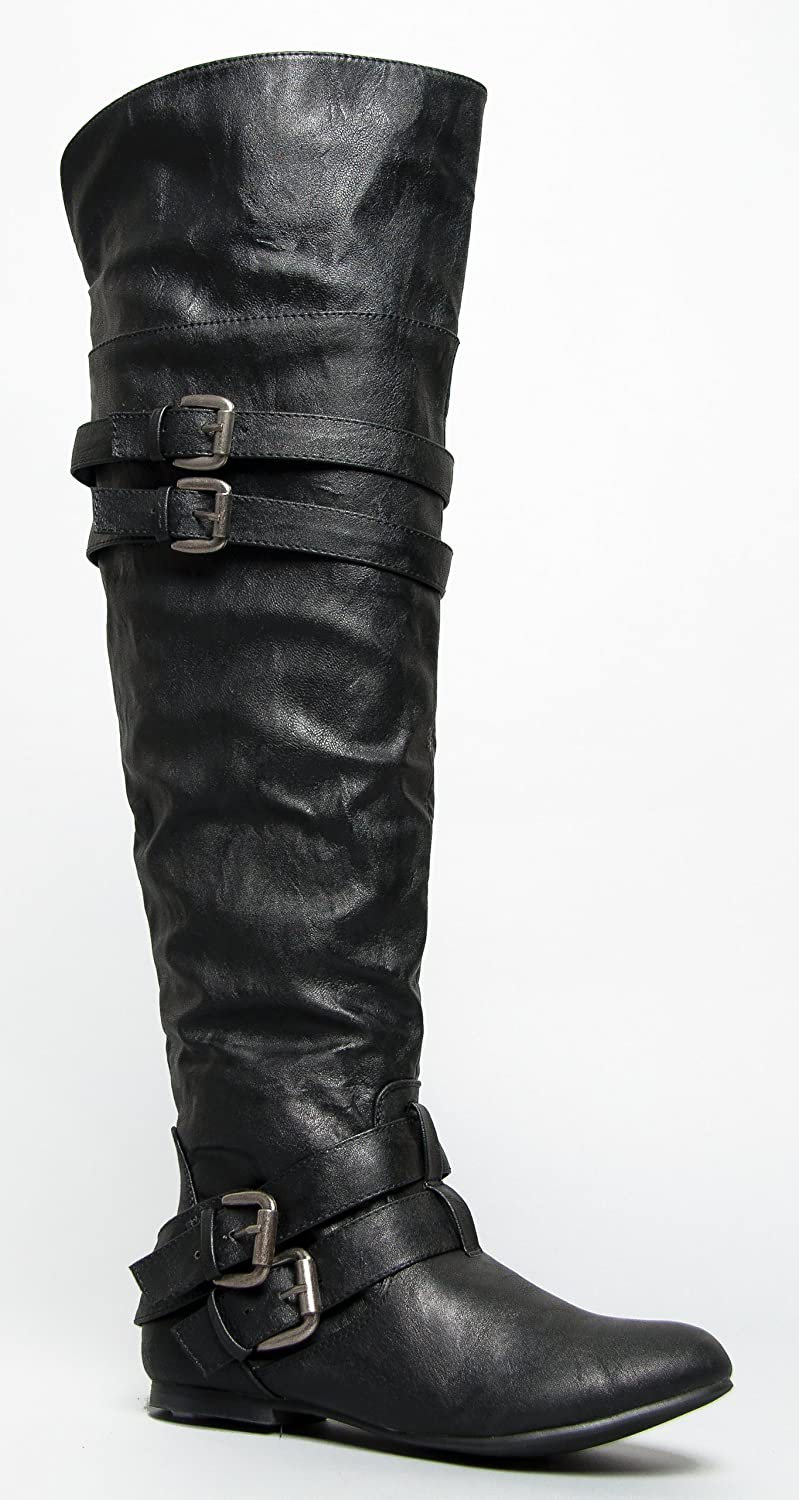 Nature Breeze Vickie-16H over knee boot