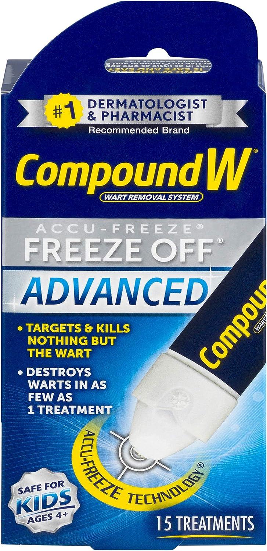 Compound W Accu-Freeze Freeze Off Advanced   Wart Removal   15 Treatments