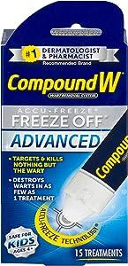 Compound W Accu-Freeze Freeze Off Advanced | Wart Removal | 15 Treatments