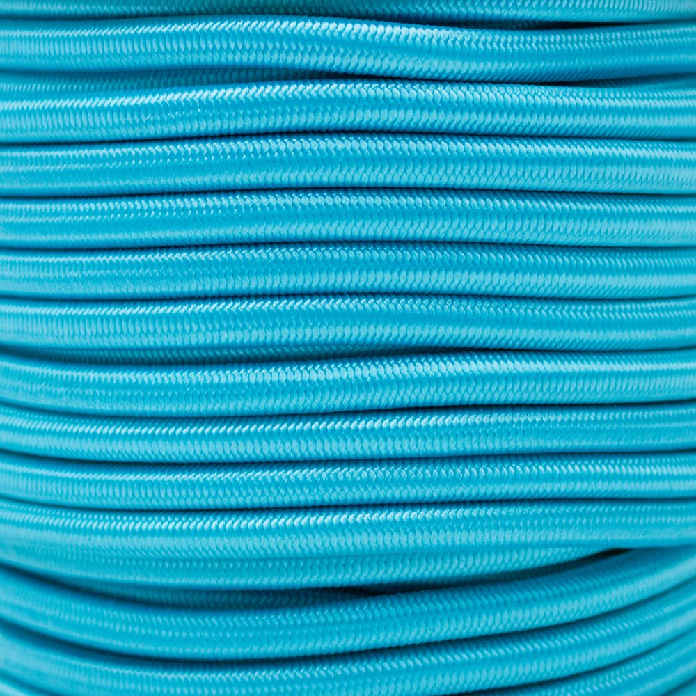 West Coast Paracord Elastic Bungee Nylon Shock Cord Multiple Diameters and Lengths Various Colors