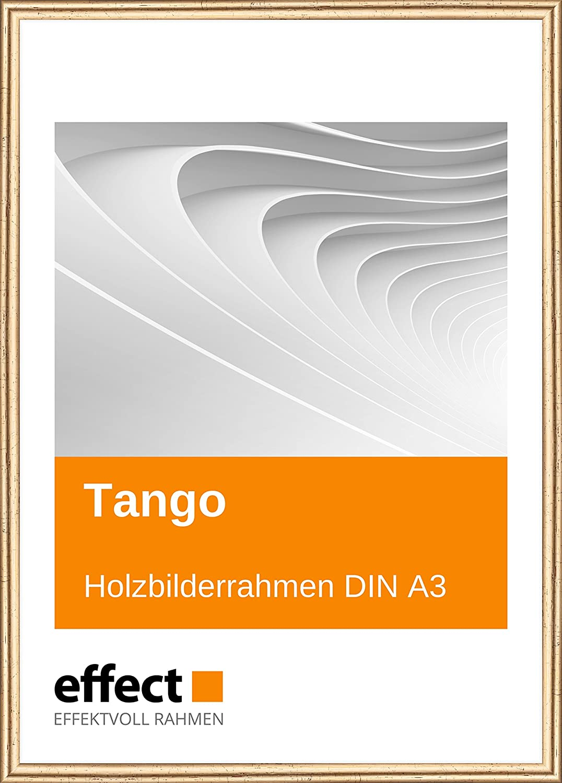Effect Bilderrahmen Tango Gold Bilderrahmen Holz Din A3 Normalglas ...