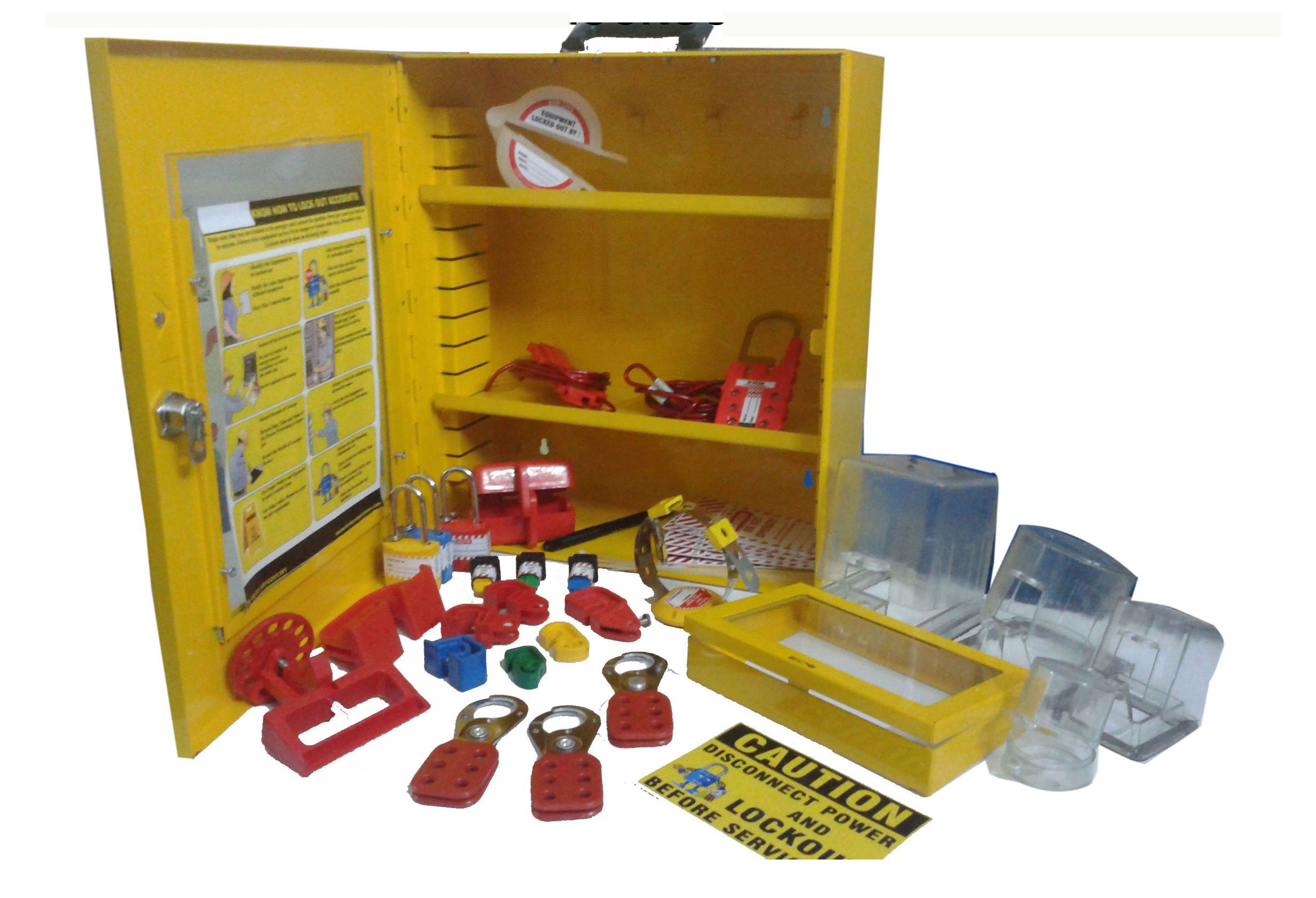 Industrial Lockout Tagout Station Kit-3