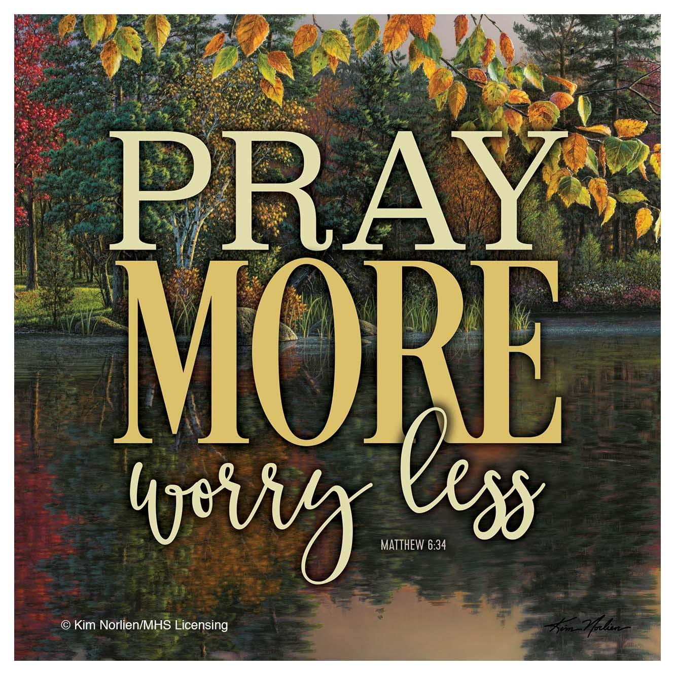 Thirstystone FNK4 コースターセット Pray More、Worry Less   B07MSFWM1J
