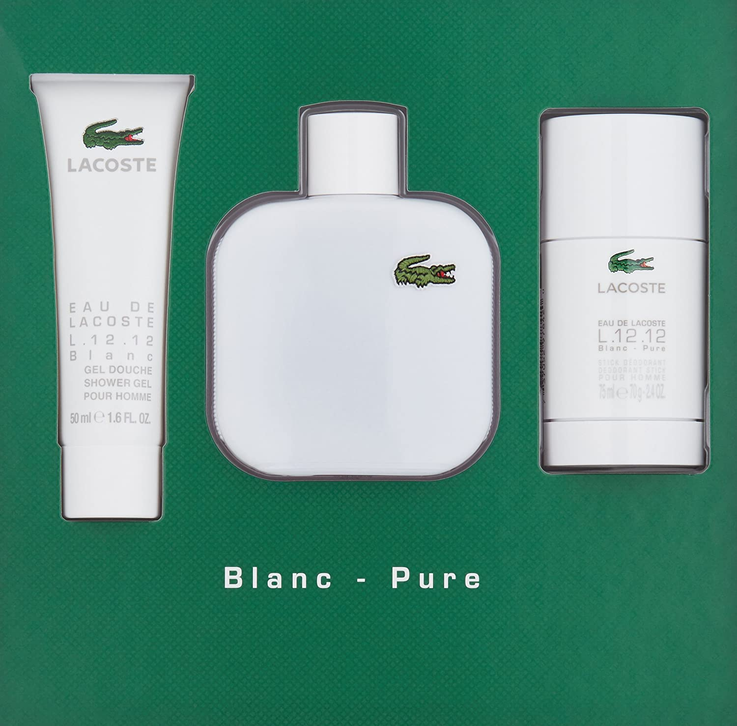 Lacoste - toilet water for winners and winners
