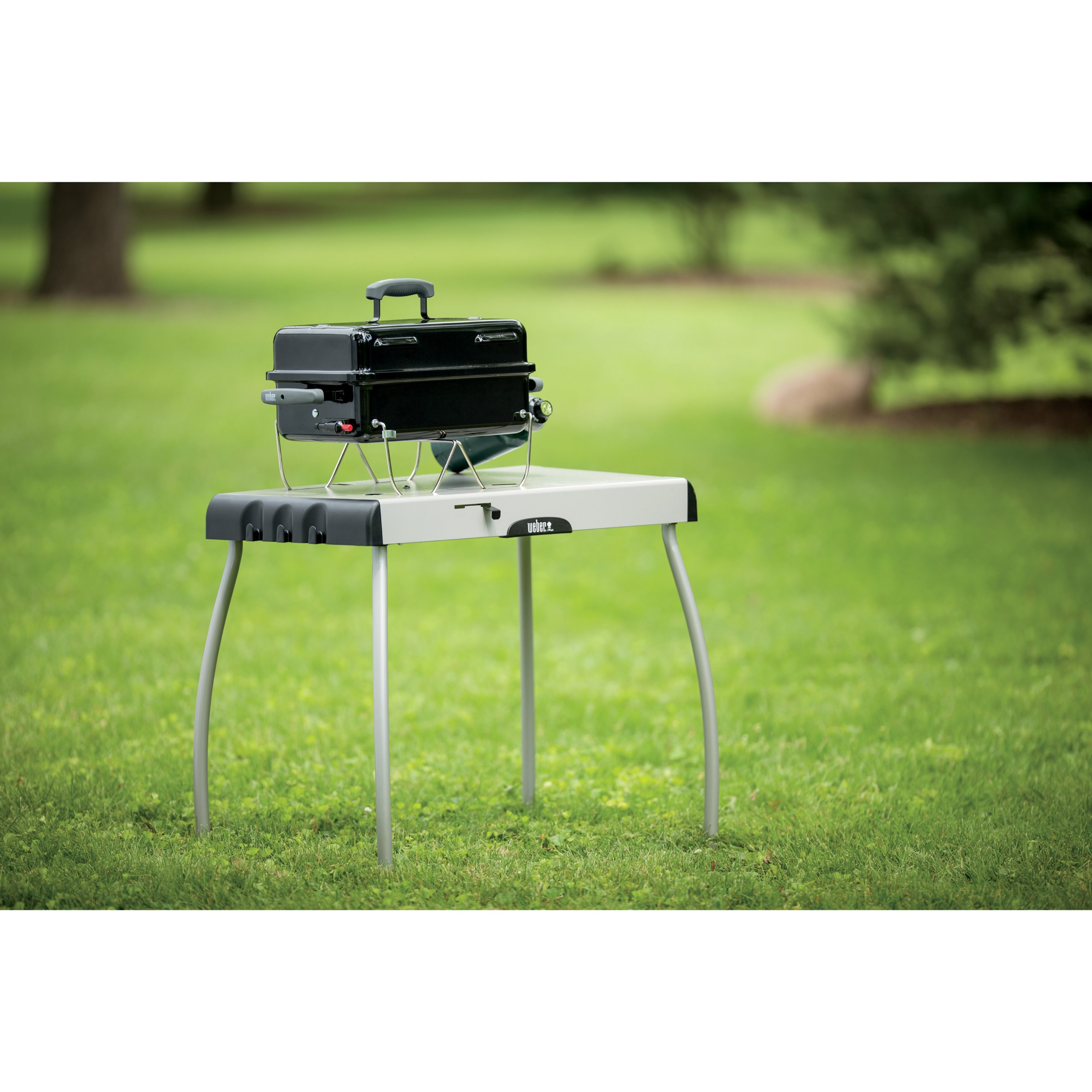 Weber 1141001 Go-Anywhere Gas Grill, ONE Size, Black by Weber (Image #5)