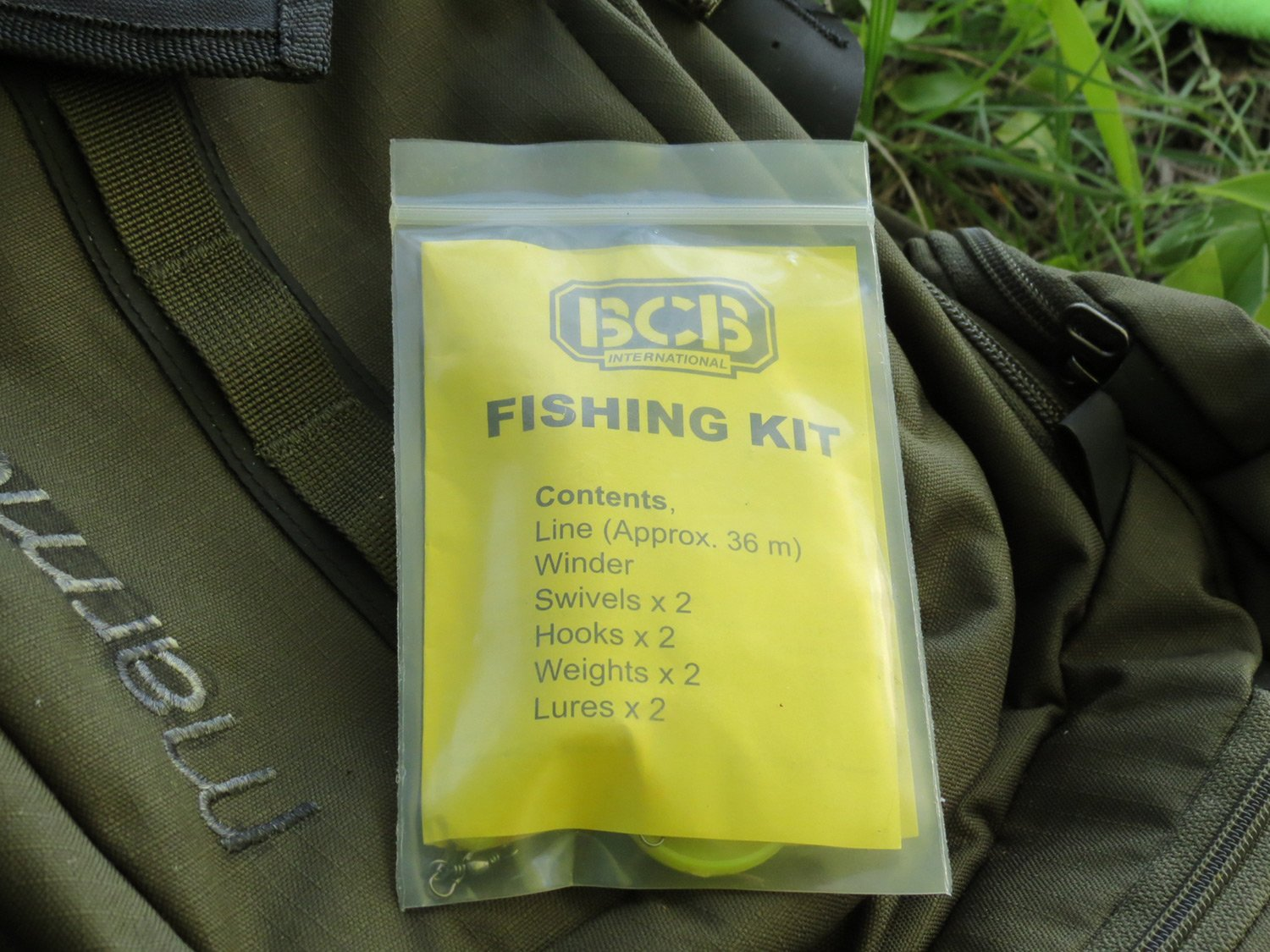 BCB Survival Fishing Kit, with line and lures: Amazon co uk