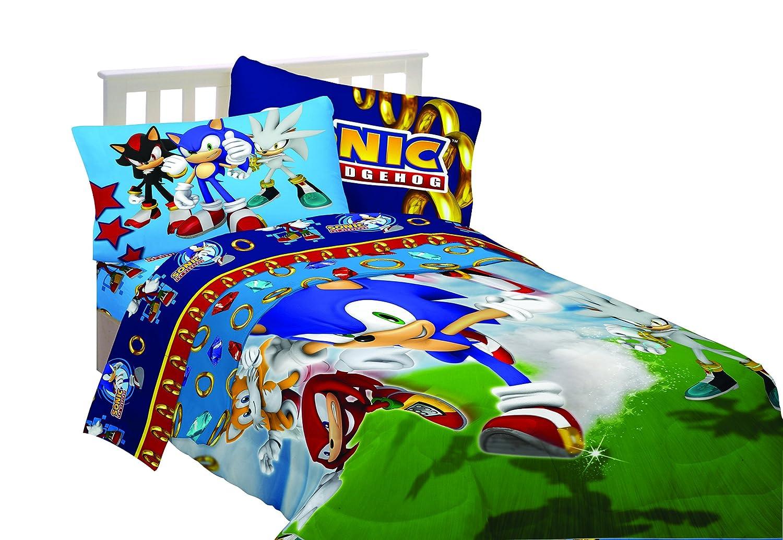 Sega Sonic The Hedgehog Sonic Speed Twin Sheet Set  Amazon ca  Home    Kitchen. Sega Sonic The Hedgehog Sonic Speed Twin Sheet Set  Amazon ca