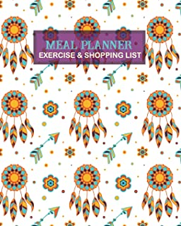 meal planner exercise shopping list for diet meal menu keto healthy food