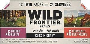 Nutro Wild Frontier High Protein Grain Free Wet Cat Food