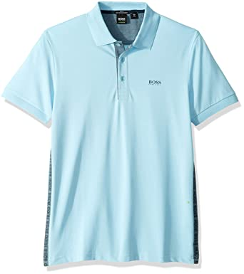 2874425e4 Amazon.com: Hugo Boss Men's Paule Active Stretch S'café Polo: Clothing
