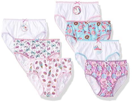 f354fdd0221 Amazon.com  Nickelodeon Little Girl s 7-Pack JoJo Siwa Bikini Brief  Underwear  Clothing