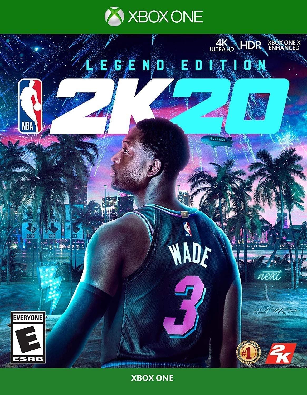 Amazon Com Nba 2k20 Legend Edition Xbox One Take 2