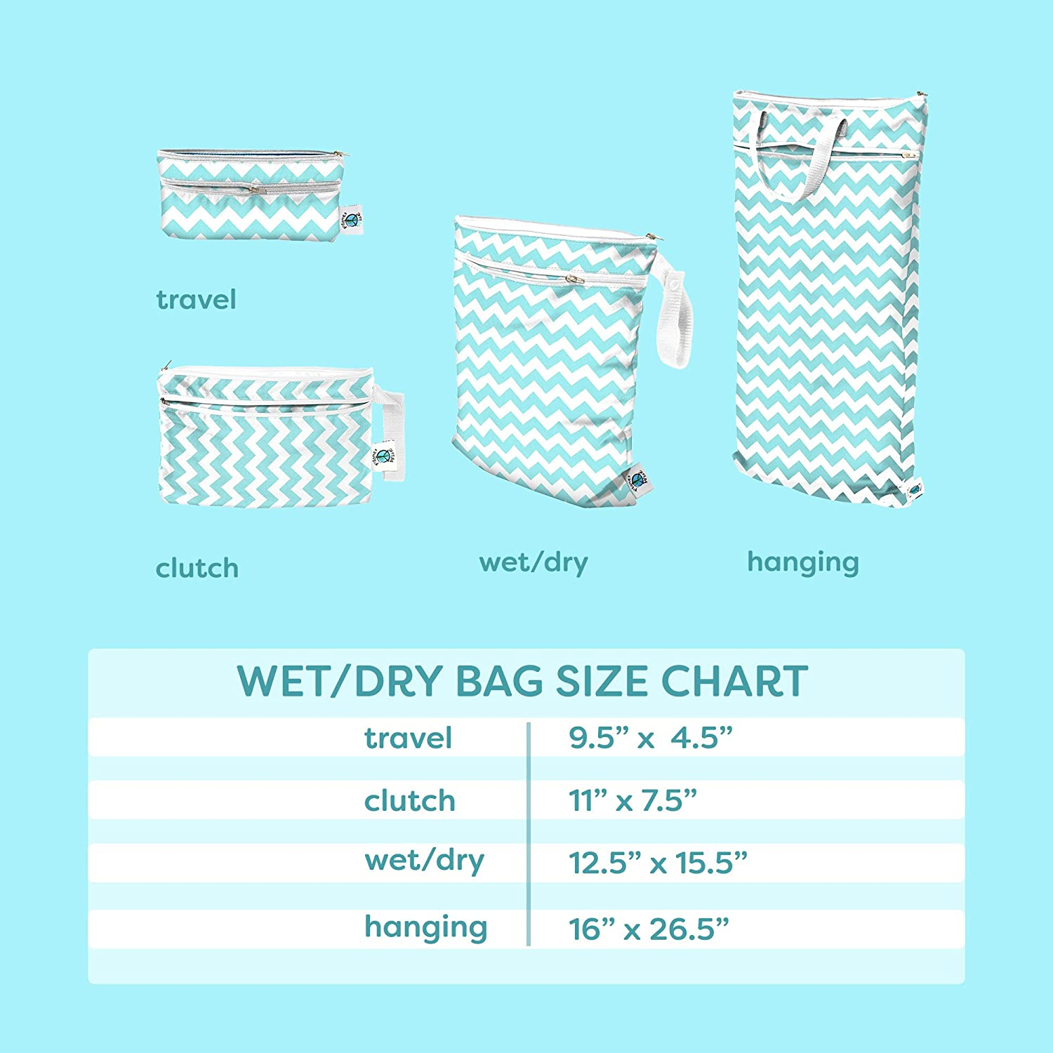 Celestial Sea Planet Wise Hanging Wet//Dry Bag