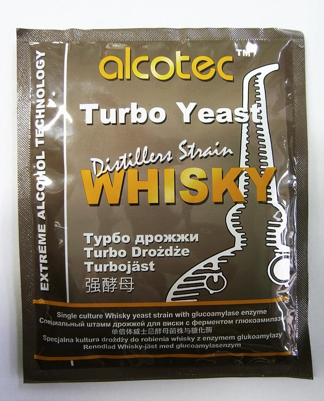 Turbo levadura–WHISKY levadura–de alta Alcohol/espíritu de levadura/Vodka levaduras/Moonshine/medidor de Alcohol