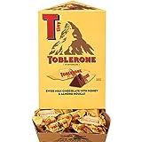 Toblerone Tiny Swiss Milk Chocolate Bars, 100 - 0.28 oz Packs