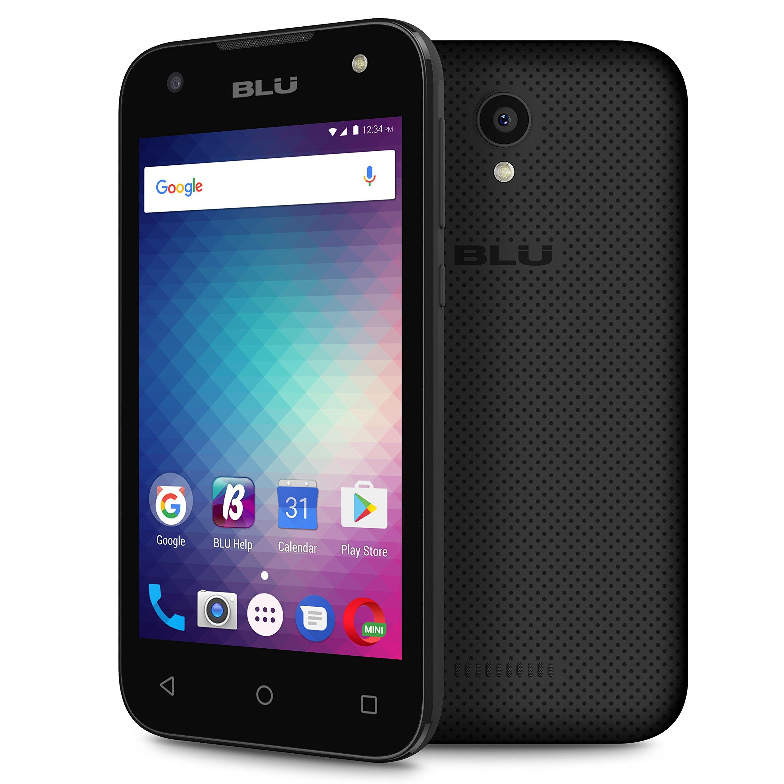 BLU Advance A4 -Unlocked Dual Sim Smartphone -Black by BLU (Image #2)