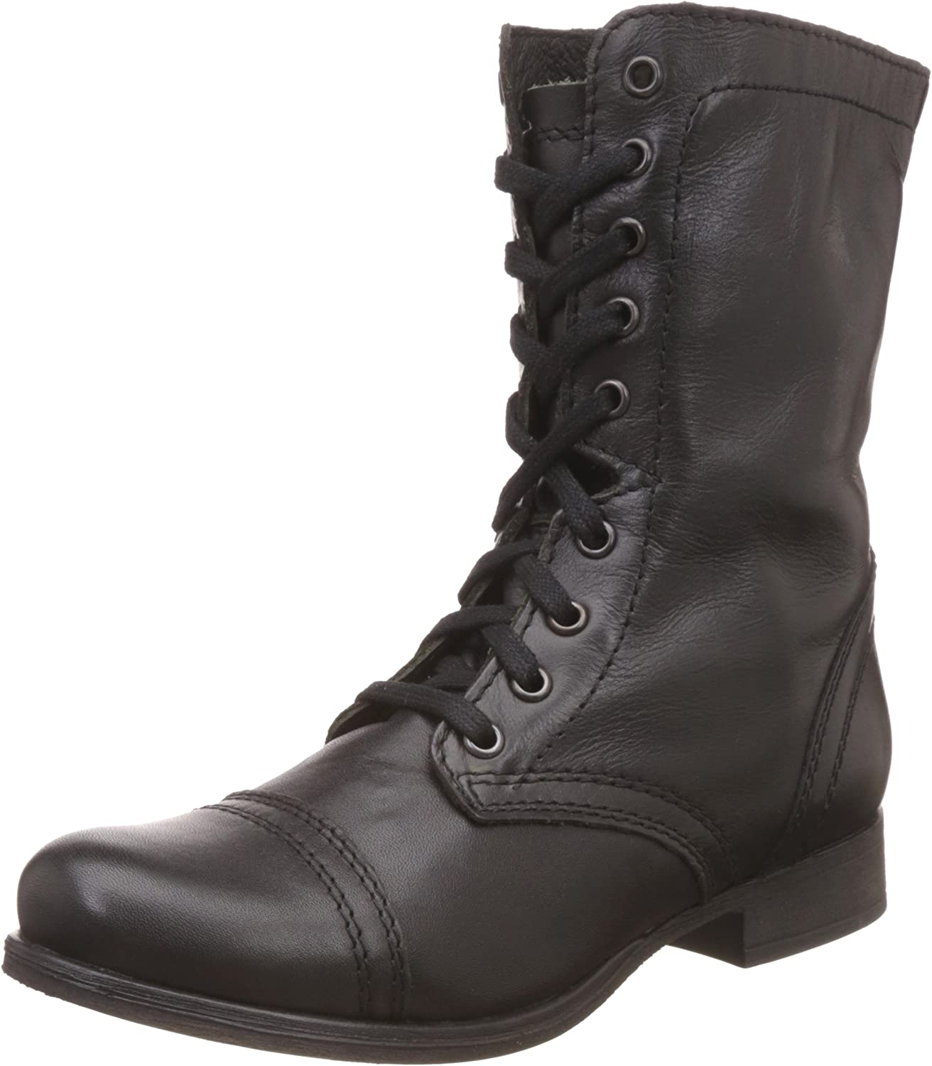 crecimiento Gran cantidad Maestro  Steve Madden Women's Troopa High-Top Leather Boot: Steve Madden: Amazon.ca:  Shoes & Handbags