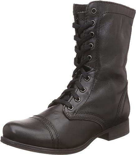 precio razonable varios colores calidad asombrosa Amazon.com | Steve Madden Women's Troopa Lace-Up Boot | Mid-Calf