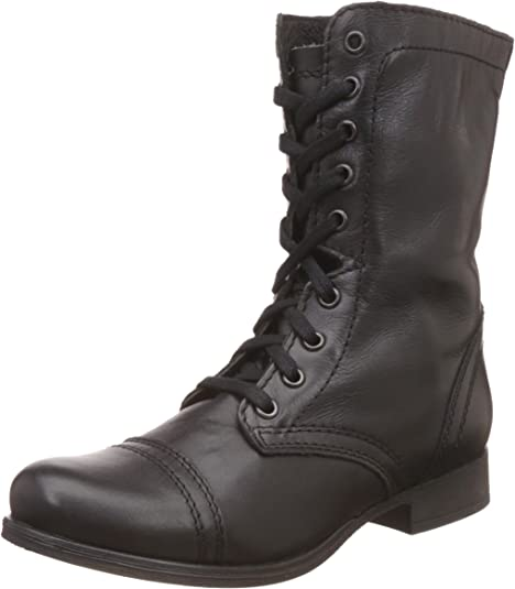 lace up in hot sale online best cheap Amazon.com | Steve Madden Women's Troopa Lace-Up Boot | Mid-Calf