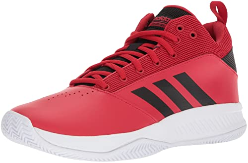 cheap for discount ee327 78a96 adidas Men s Cloudfoam Ilation 2.0 Basketball Shoes, Scarlet Core  Black Footwear White,