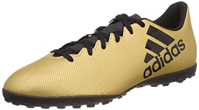 adidas Herren X Tango 17.4 TF Fußballschuhe, Gold (Tactile