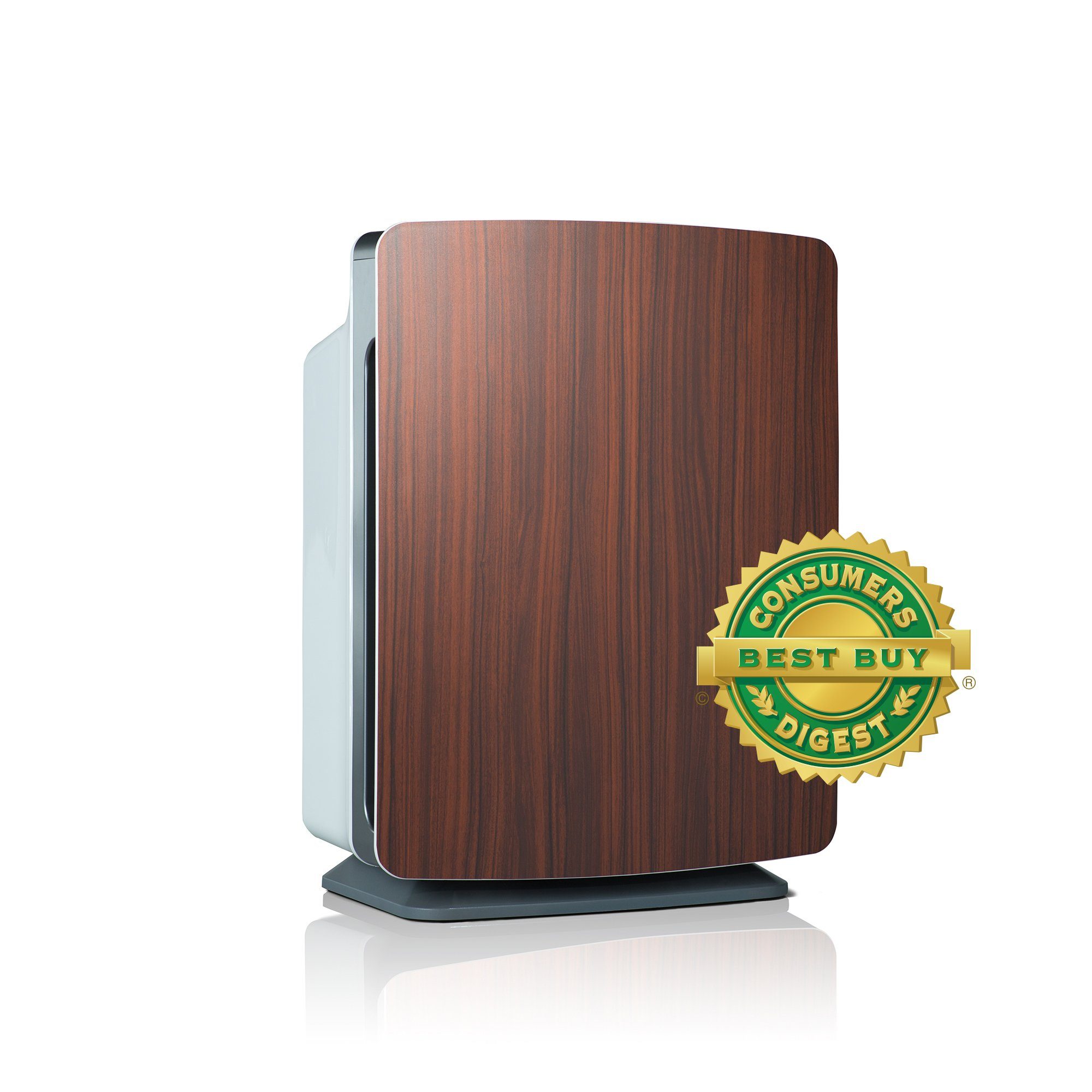 Alen BreatheSmart FIT50 Customizable Air Purifier with HEPA-Pure Filter for Allergies and Dust (Rosewood, 1-Pack)