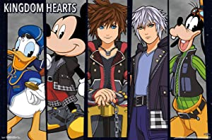 Trends International Disney Kingdom Hearts 3 - Group Wall Poster, 22.375