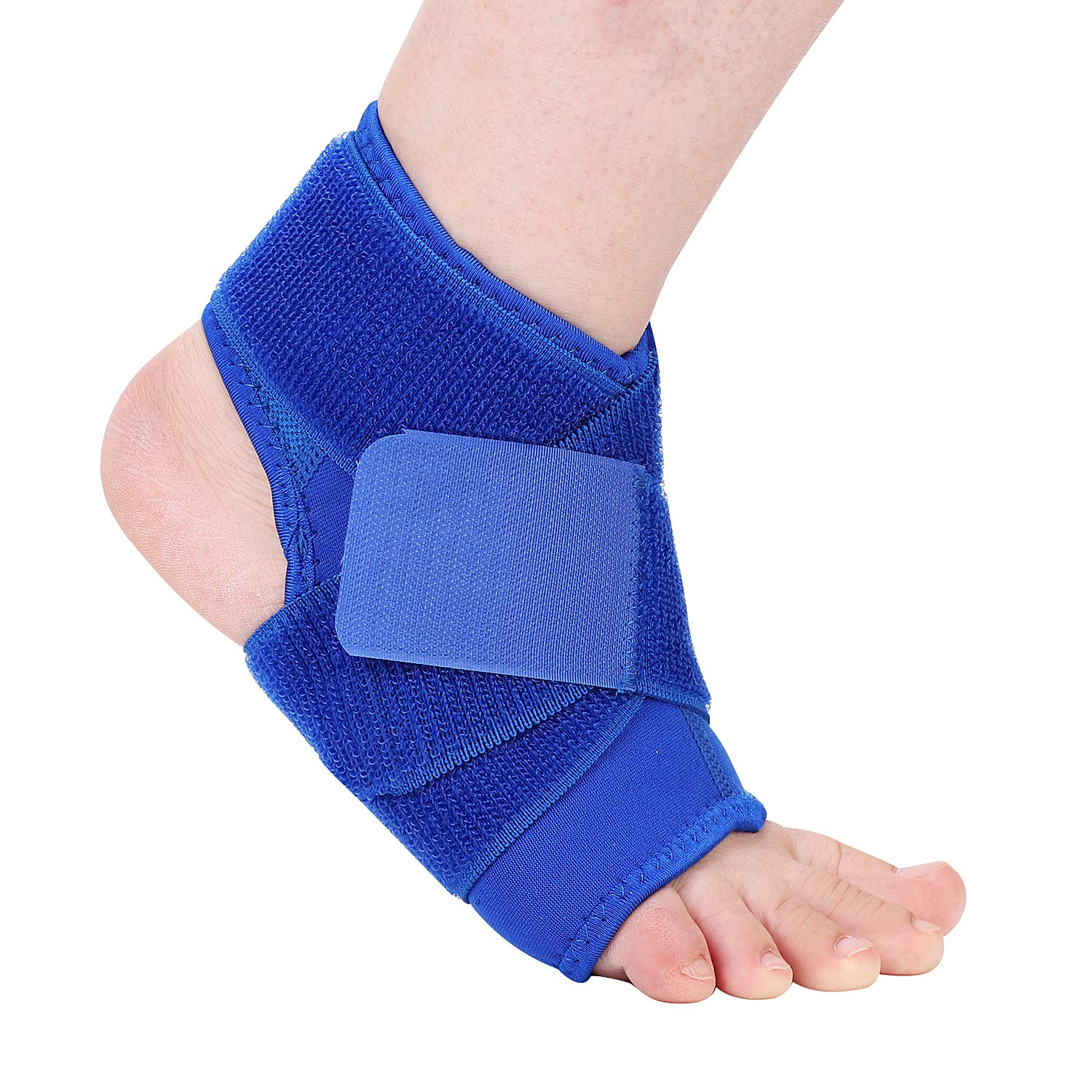 Ankle Support Brace Compression Ankle Strap Immobilization Foot Wrap Support for Joint Pain Sprain Arthritis Pain Relief ,Tendon Injury Recovery Re-injury Protection for Fitness Basketball Men Women