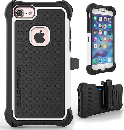 iPhone 7 Coque, Ballistic [Tough Jacket Maxx] Heavy Duty Coque de protection pour Apple iPhone 7 Test de chute Certifié 2,4 m Impact Drop protection ...