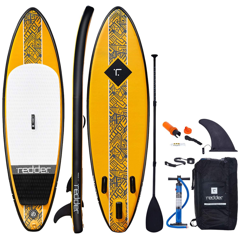 redder Tablas Paddle Surf Hinchables Rouge Doble Capa 9 Surf Tabla Stand Up Paddle - Kit con Bravo Inflador, Carbono y Fibra de Vidrio Pala Ajustable 3 ...