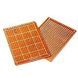HiLetgo 20pcs 5x7cm Bakelite DIY Prototype Board