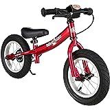"""BIKESTAR Bicicleta sin pedales para niños ★ 12 pulgadas ★ Color Rojo ★ A partir de 3-4 años ★ 12"""" Sport Edition 2018"""