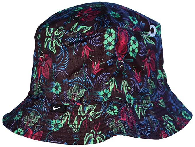 269c6c0b35c Nike Unisex Sport Casual Floral Bucket Hat-Black Floral-Large  Amazon.ca   Beauty