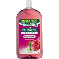 Palmolive Foaming Hand Wash Soap Raspberry Refill and Save 0% Parabens 0% Phthalates 0% Alcohol Recyclable, 1L