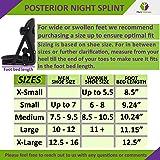 Plantar Fasciitis Posterior Night Splint - Small