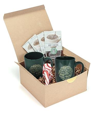 starbucks gourmet hot cocoa gift basket set