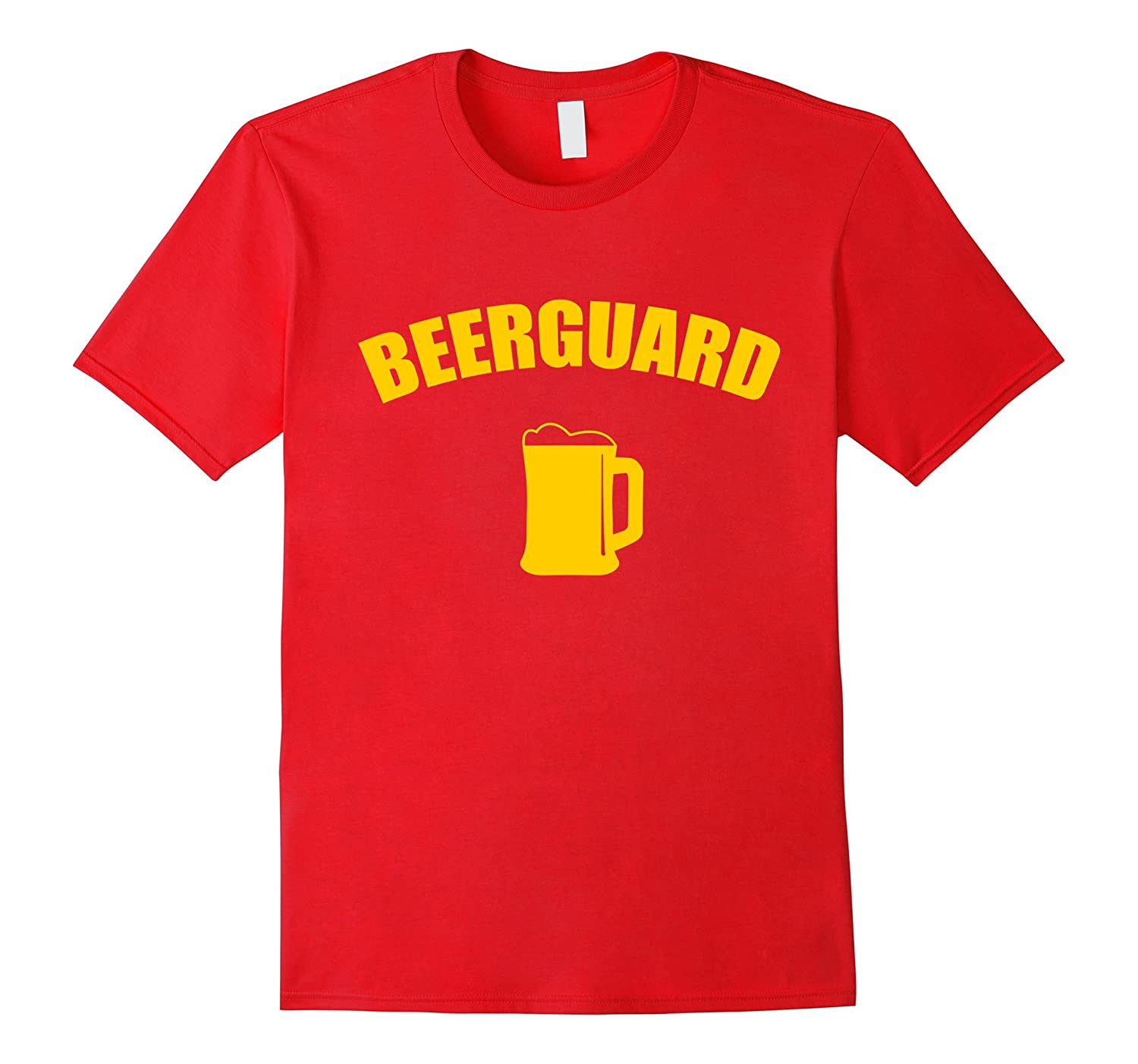 Beerguard Lifeguard Red - Beer Summer Beach Holiday T-shirt-CD