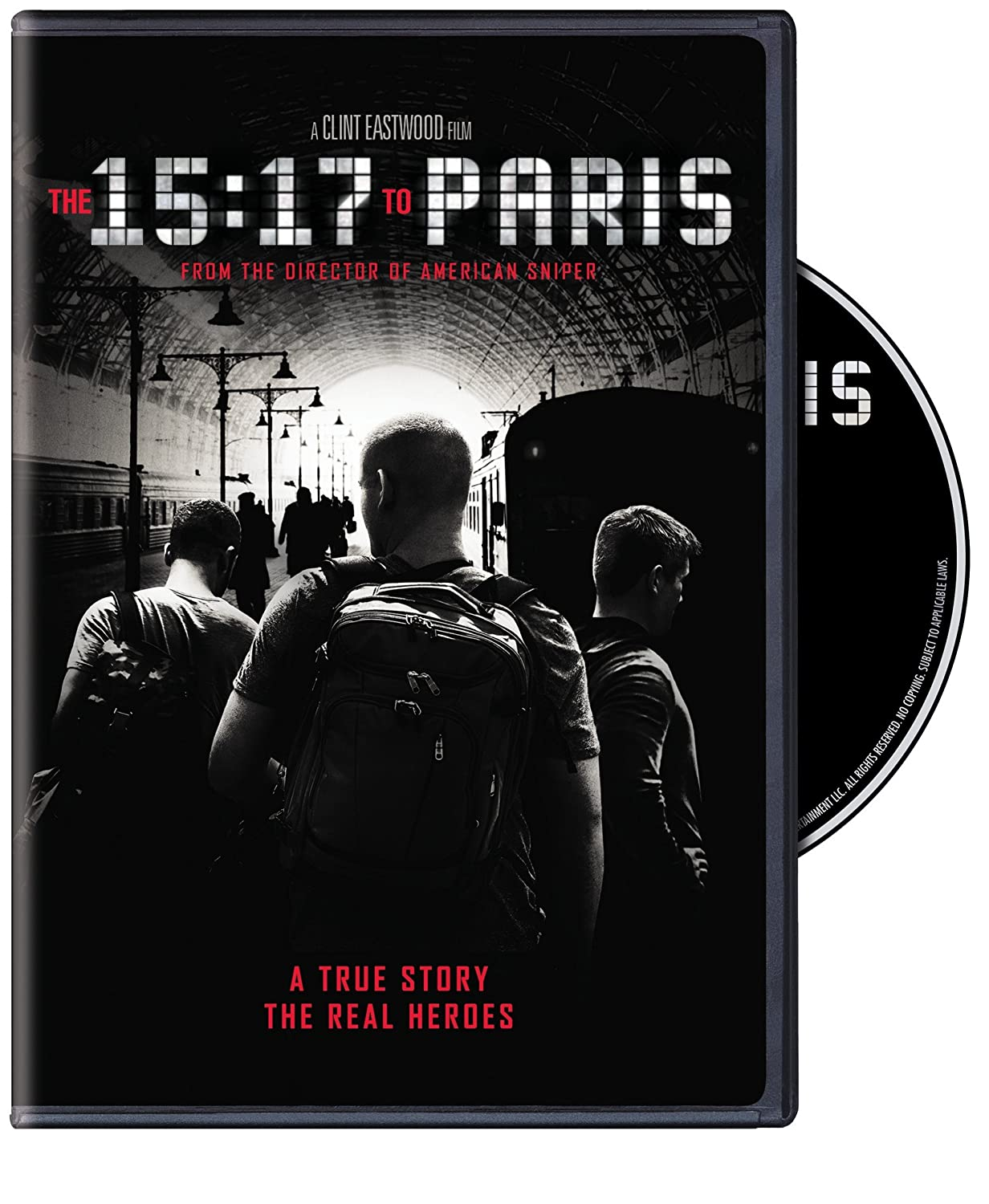 The 15: 17 To Paris by Amazon