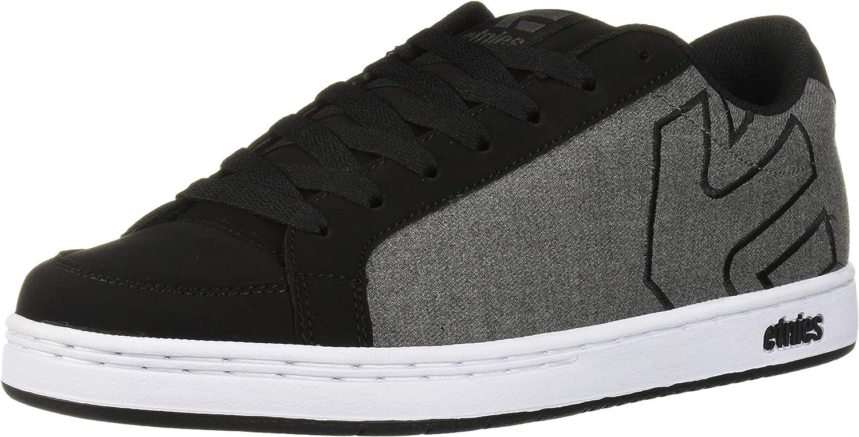 Etnies Men s Kingpin 2 Skate Shoe, Black Grey White, 7.5 Medium US