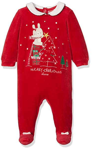 Chicco 9021551, Pelele para Bebés, Rojo (Rosso Medio), (Talla del Fabricante: 044): Amazon.es: Ropa y accesorios
