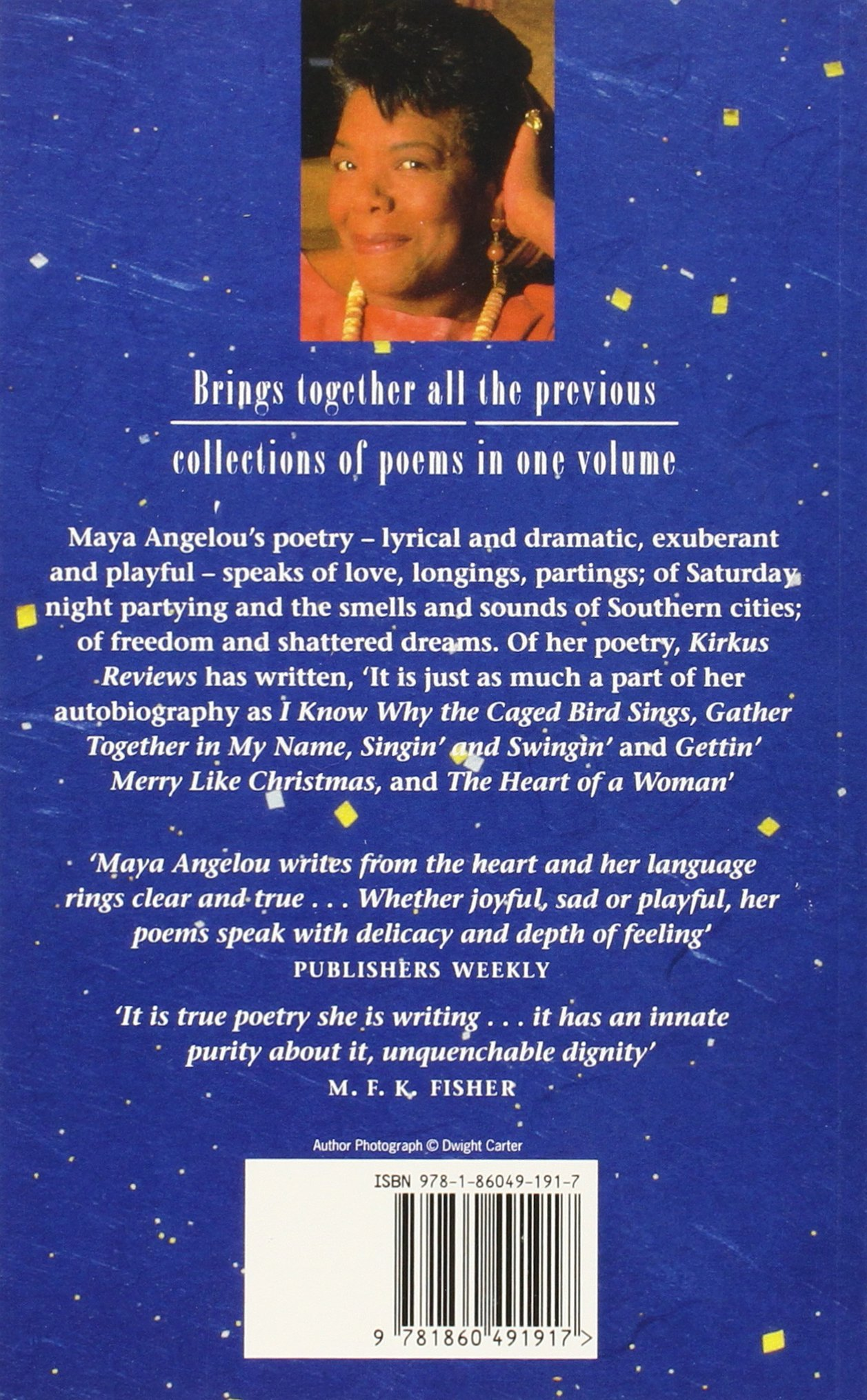 Theplete Collected Poems Of Maya Angelou: Amazon: Maya Angelou:  9781860491917: Books