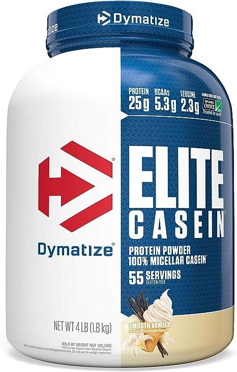Dymatize Elite Casein Smooth Vanilla - 1818 gr