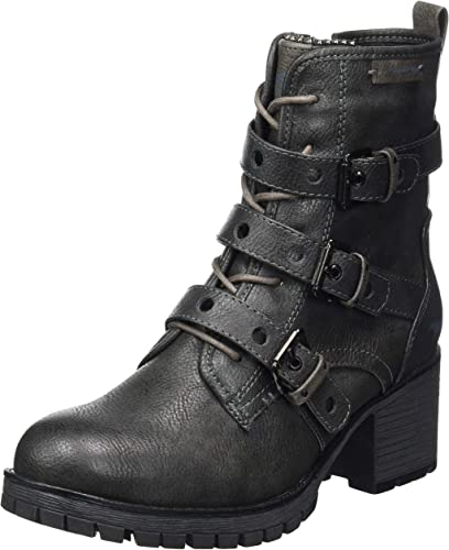 amazon uk mustang ladies boots
