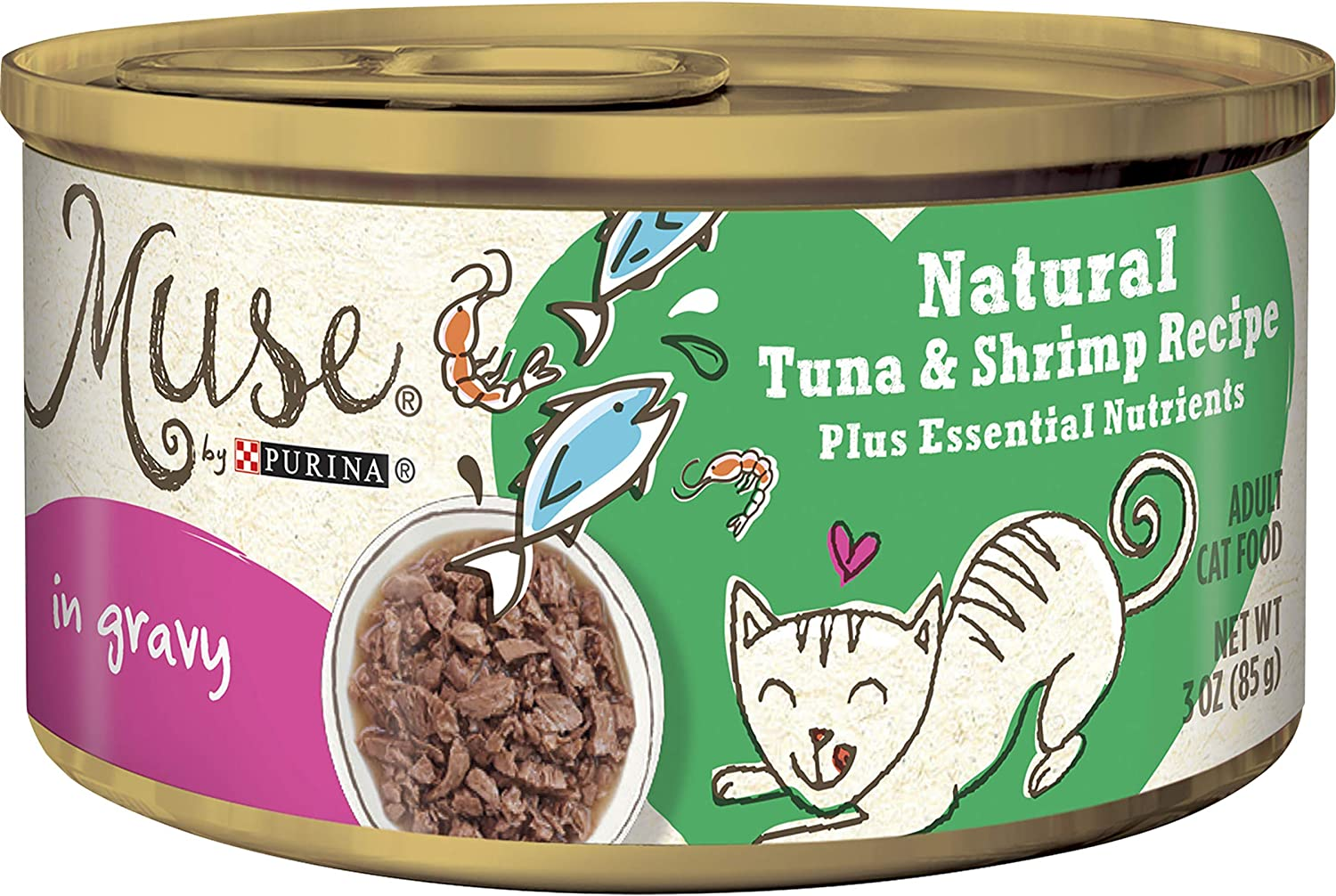 Muse Natural Canned Wet Cat Food
