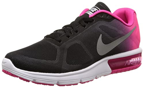 Nike Womens Air Max Sequent Fabric Low Top Running Sneaker