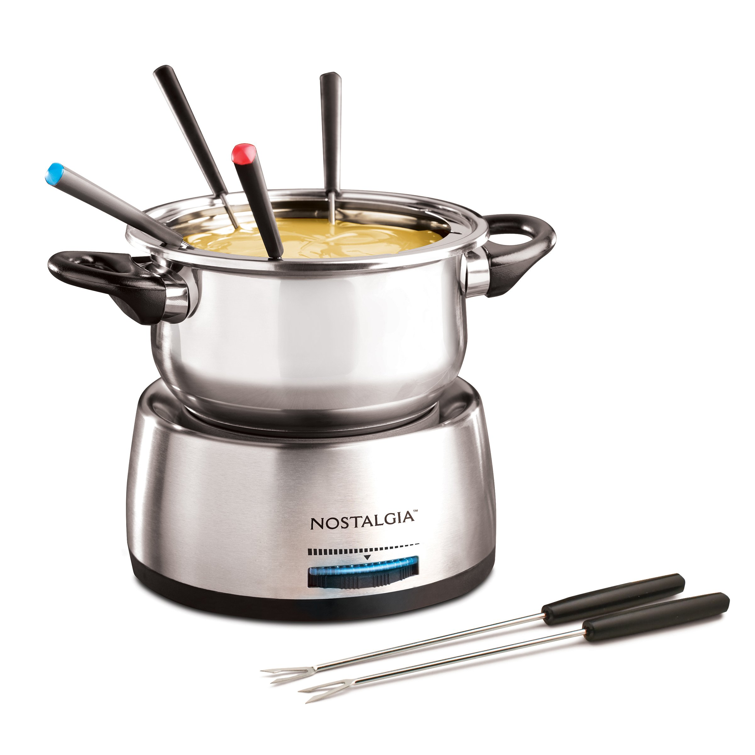 Galleon nostalgia fps200 6 cup stainless steel electric fondue pot for Kitchen set toys r us philippines